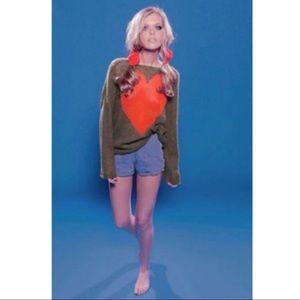WILDFOX Bianca Jagger Penny Lane Sweater
